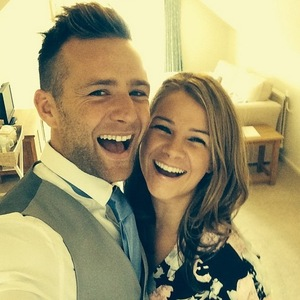 Harry Judd and wife Izzy, Instagram 31 August