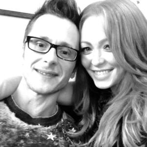Ritchie Neville and Natasha Hamilton have enjoyed a date night before the birth of their baby - 4 September 2014
