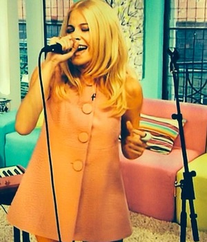 Pixie Lott performs on Sunday Brunch, 7 September 2014