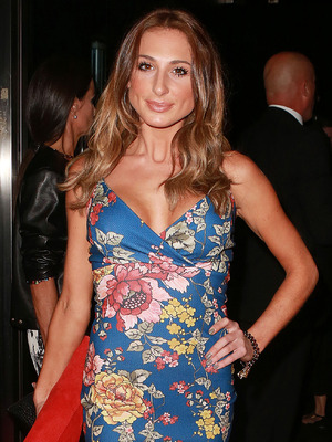 TOWIE's Grace Andrews attends the InTheStyle.co.uk party in London, England - 4 September 2014