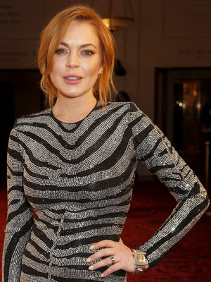 Lindsay Lohan, GQ Men of the Year Awards in association with Hugo Boss, Royal Opera House, London, Britain - 02 Sep 2014