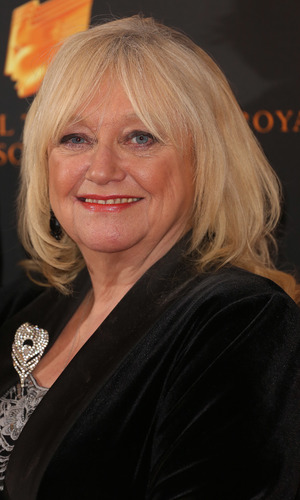 Judy Finnigan at the RTS Programme Awards 2014 held at Grosvenor House Hotel - Arrivals 03/18/2014 London, United Kingdom