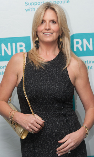 Penny Lancaster Stewart at the RNIB Gala Dinner held at the London Hilton - Arrivals. 07/09/2014 London, United Kingdom