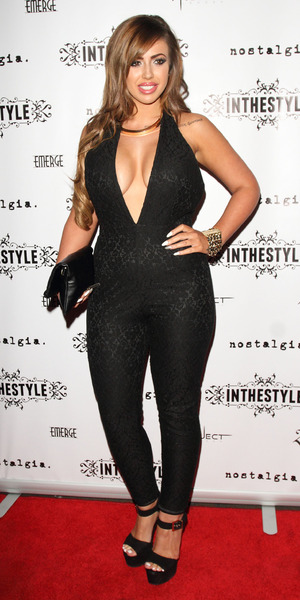 Geordie Shore star Holly Hagan attends Charlotte Crosby's InTheStyle launch party, Project Club, London 4 September