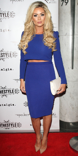 Nicola McLean at the In The Style Party at Project Club, Wells Street, London, 4 September 2014