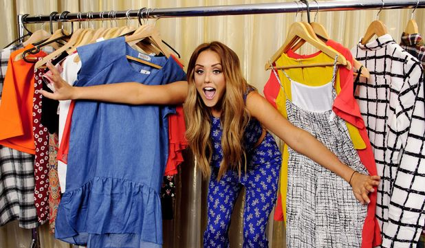 Charlotte Crosby launches her 'Nostalgia' fashion range from In The Style, London 4 September