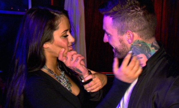 Geordie Shore, Marnie Simpson and Aaron Chalmers nearly kiss, MTV 2 September