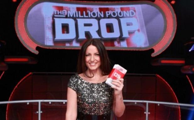 Davina McCall on The Million Pound Drop - Channel 4.