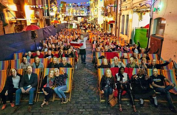 Gogglebox stars mobbed on night out - 5 September.