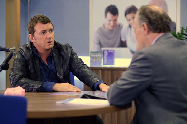 EastEnders, Alfie tries for a loan, Fri 5 Sep