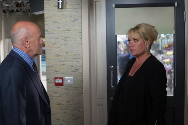 EastEnders, Sharon meets Marcus, Mon 8 Sep