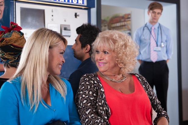 Hollyoaks, Grace takes Nany to hospital, Fri 5 Sep