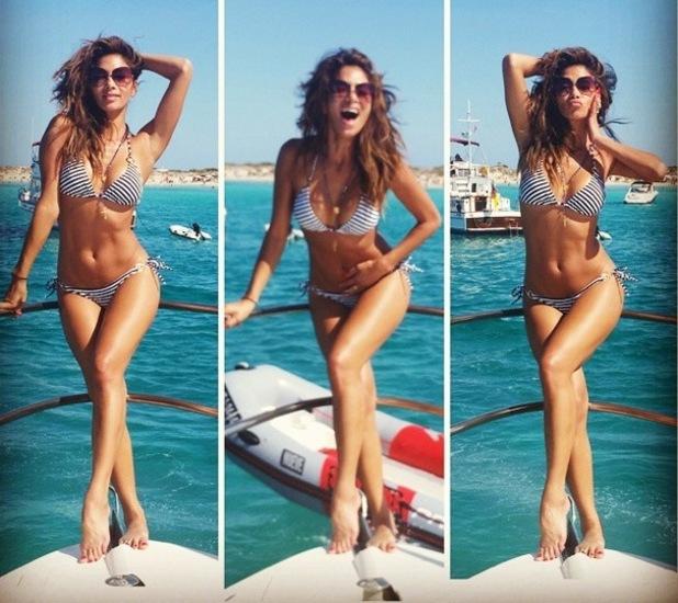 Nicole Scherzinger on holiday in Formentera, Ibiza 2 September