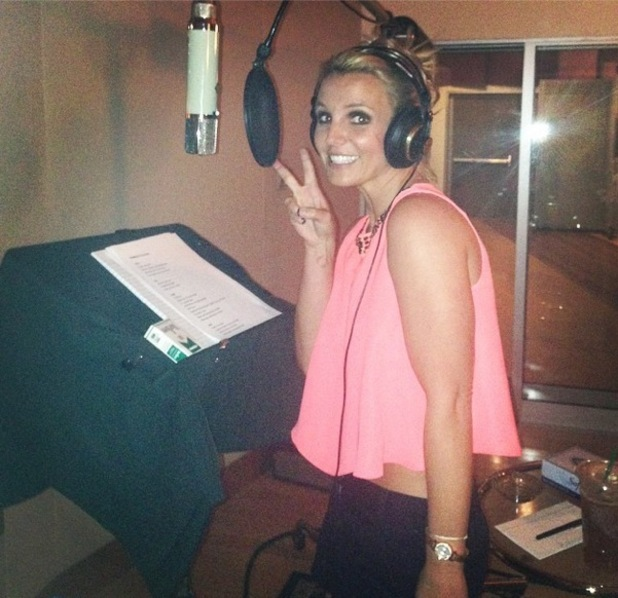 Britney Spears shares photo of herself in the studio, Twitter 5 September