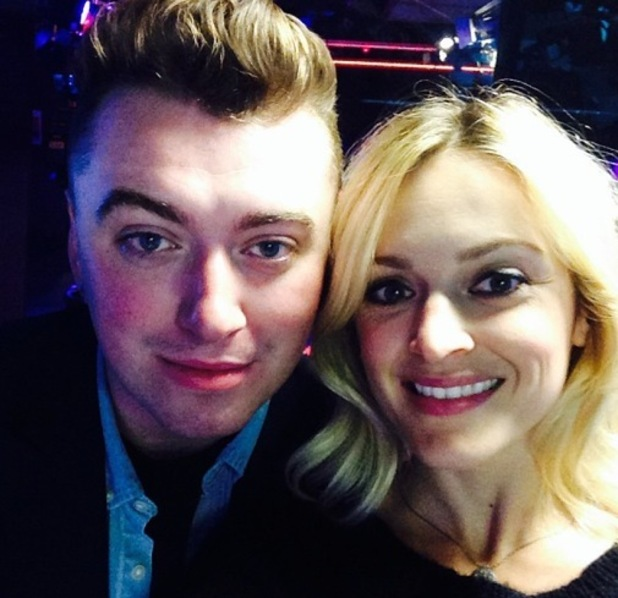 Fearne Cotton and Sam Smith, Radio 1, BBC Studios, London 3 September