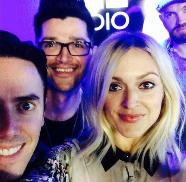 Fearne Cotton and The Script