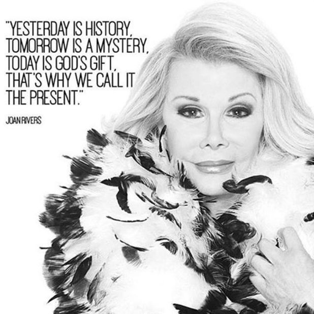 Kelly Osbourne pays tribute to Joan Rivers - 5 September 2014