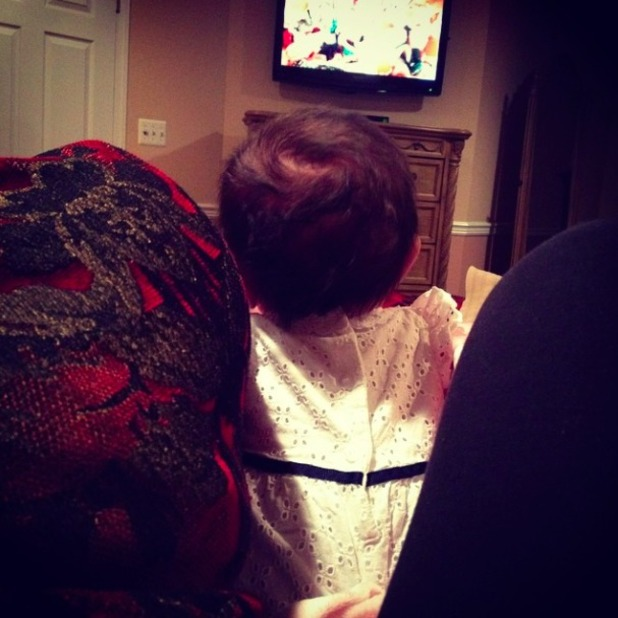 JWoww shares cute picture of her baby daughter Meilani, 5 September 2014