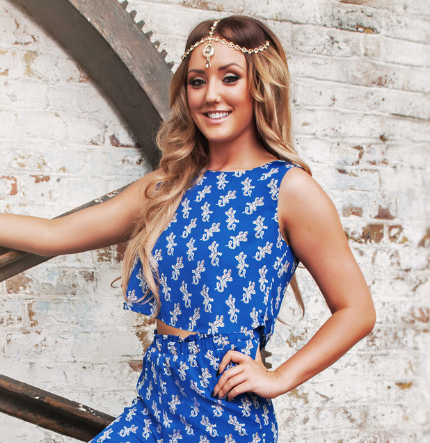 Charlotte Crosby models collection for InTheStyle.co.uk 2 September