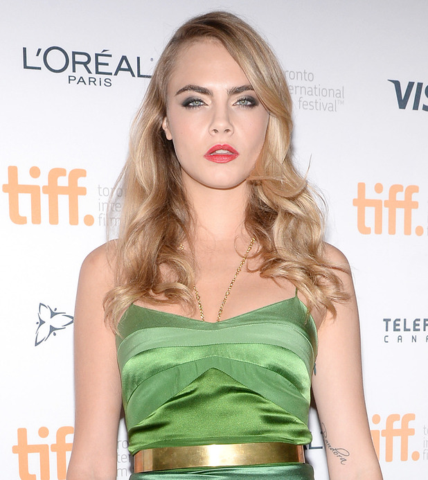 Cara Delevingne at The Face of an Angel premiere, Toronto Film Festival, 6.9.14