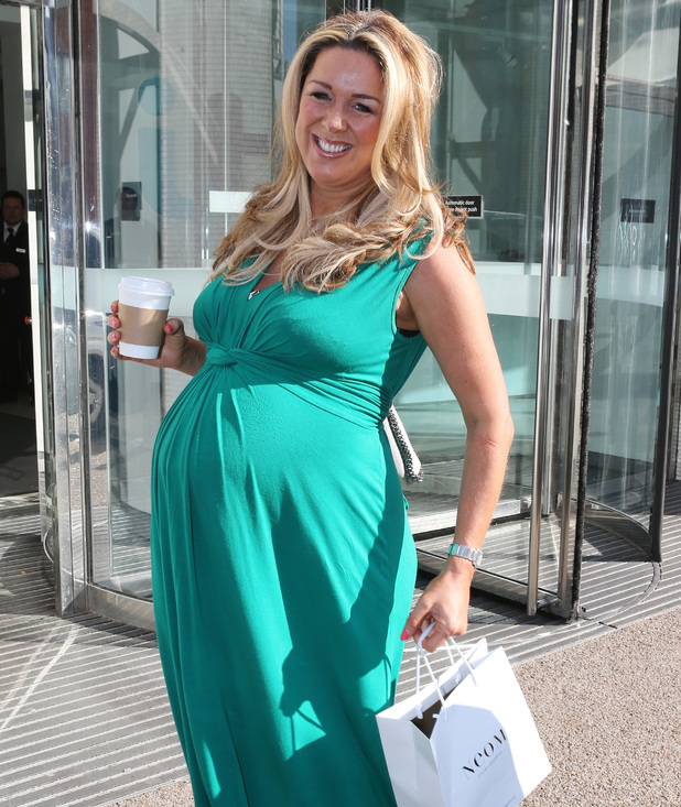 Claire Sweeney appears on Lorraine, ITV Studios, London 2 September