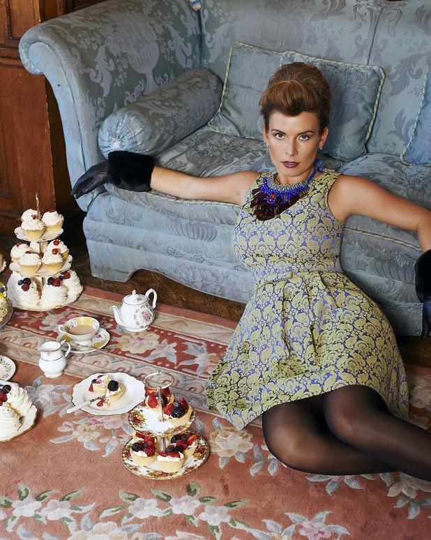Coleen Rooney models her autumn/winter 2014 collection for Littlewoods - 2 September 2014