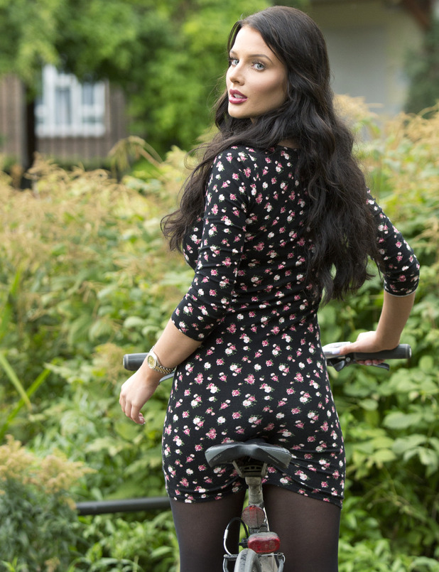 Helen Flanagan support Cycle To Work Day - 4 September 2014