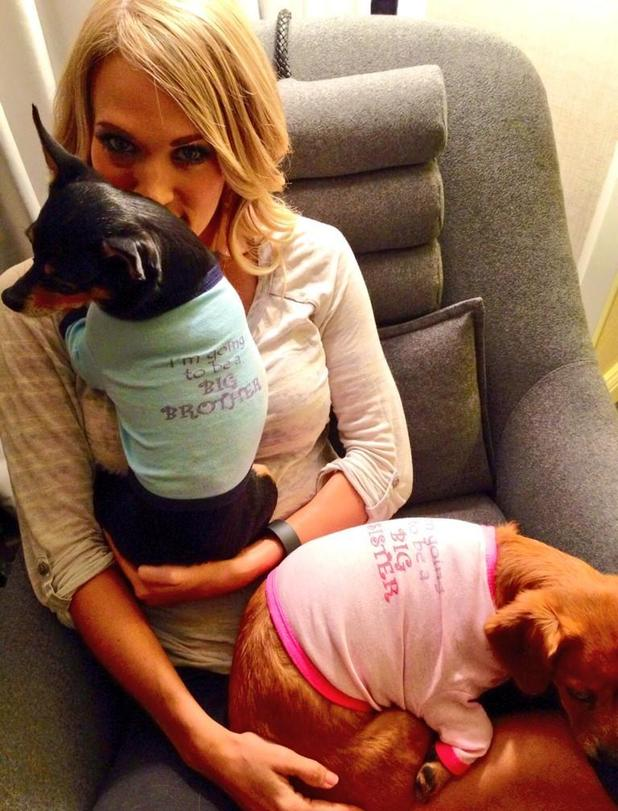 Carrie Underwood and Mike Fisher expecting first baby together - 2 September 2014