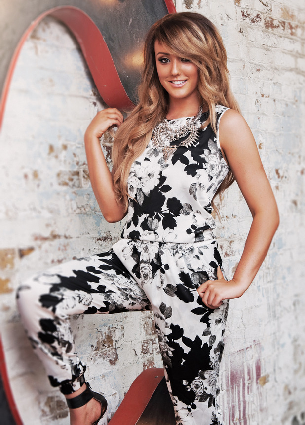 Charlotte Crosby models her new fashion collection for InTheStyle.co.uk - 2 September 2014