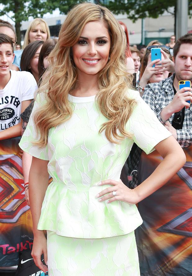 Cheryl Fernandez-Versini, X Factor London Auditions at Wembley Arena, 1 August 2014