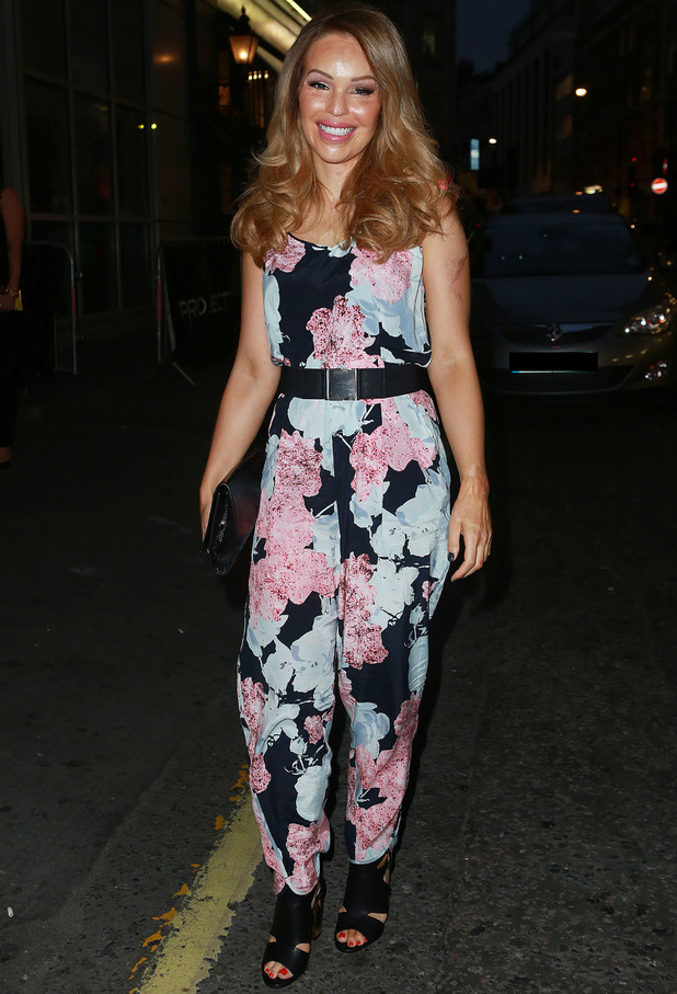 Katie Piper attends Charlotte Crosby's InTheStyle launch party at Project in London, 4 September 2014 -