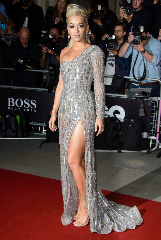Rita Ora attends the GQ Men of the Year Awards in London, England - 2 September 2014