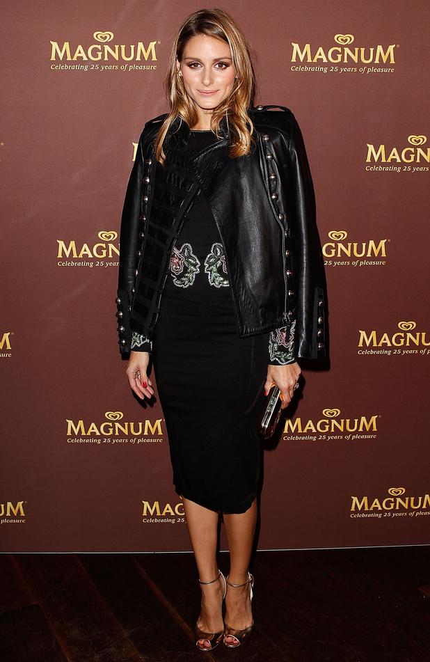 Olivia Palermo attends the Magnum 25th Anniversary Celebration in Sydney, Australia - 1 September 2014