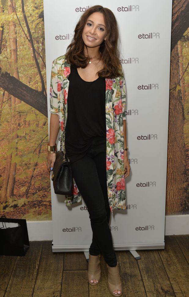 Danielle Peazer attends the Mad PR Fashion Week Gifting event in London, England - 1 September 2014