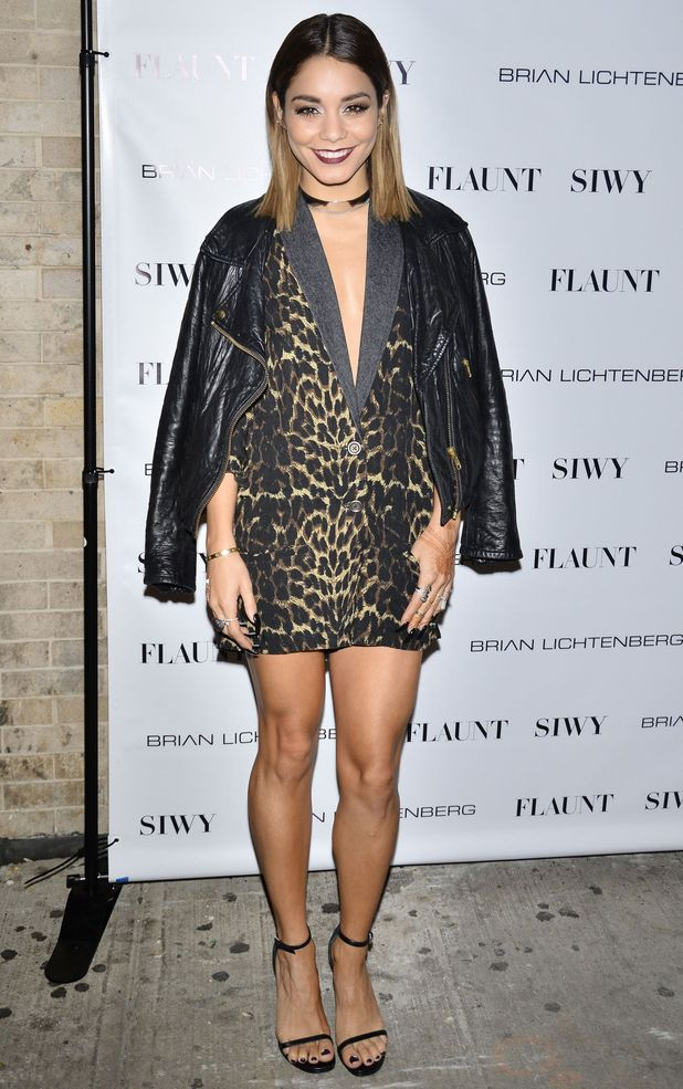 Vanessa Hudgens attends the Flaunt Magazine 'Distress' issue launch party in New York, America - 3 September 2014
