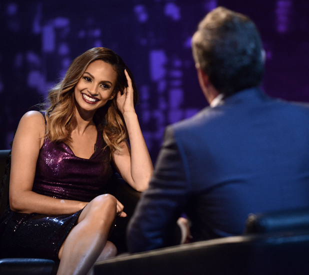 Alesha Dixon appears on Piers Morgan's Life Stories, airs 5 September 2014