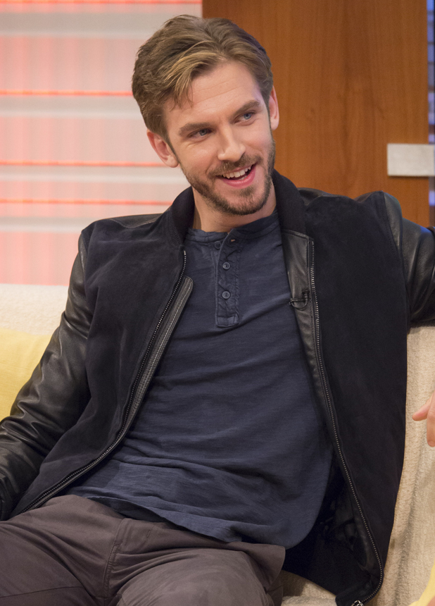 Dan Stevens, 'Good Morning Britain' TV Programme, London, Britain. - 04 Sep 2014