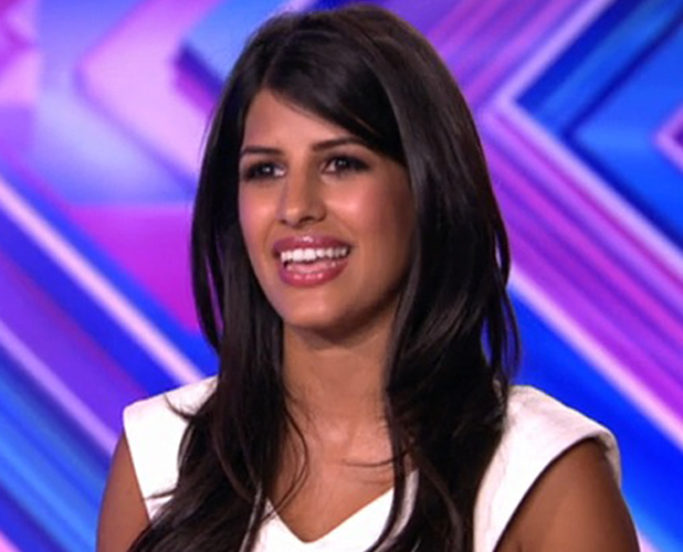 X Factor: TOWIE star Jasmin Walia auditions in front of judges, 31 August 2014