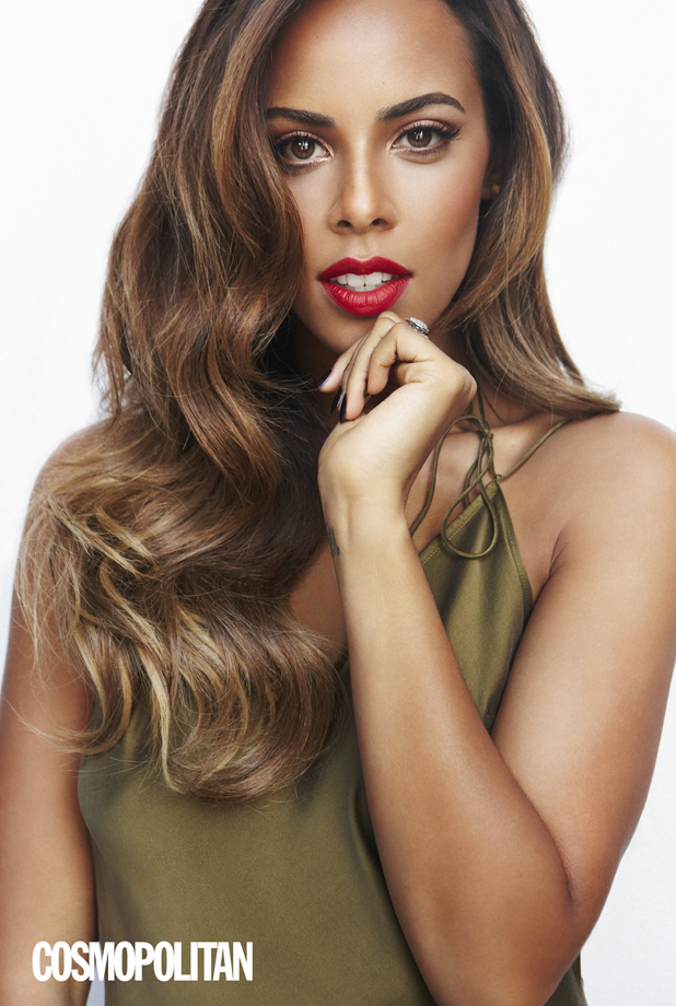 Rochelle Humes is the cover star of the October issue of Cosmopolitan, on sale 4th September.