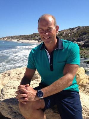 Phil Spencer in Australia - 7 March 2013.