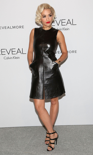 Rita Ora attends the REVEAL Calvin Klein Fragrance Launch Party at 4 World Trade Center on September 8, 2014 in New York City. (Photo by Taylor Hill/Getty Images)