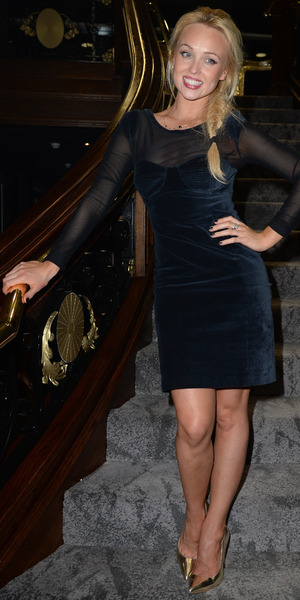 Jorgie Porter at One Night in Istanbul after party held at Titanic Liverpool - 10 September 2014