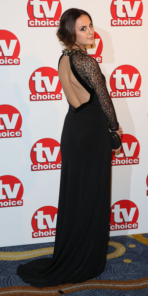 Lucy Watson attends TV Choice Awards, London 8 September