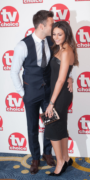 Mark Wright and Michelle Keegan, TV Choice Awards held at the London Hilton Park Lane, 8 September 2014