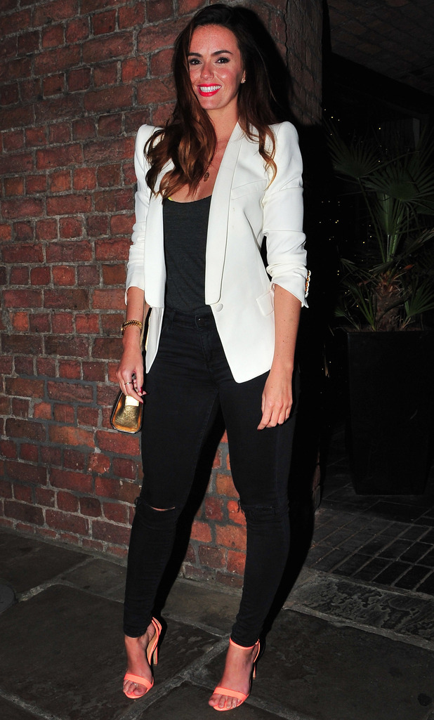Jennifer Metcalfe at One Night in Istanbul after party held at Titanic Liverpool - 10 September 2014