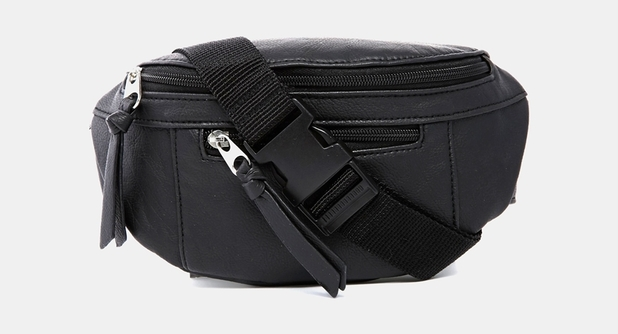 New Look Faux Leather Bumbag, £9.99, ASOS
