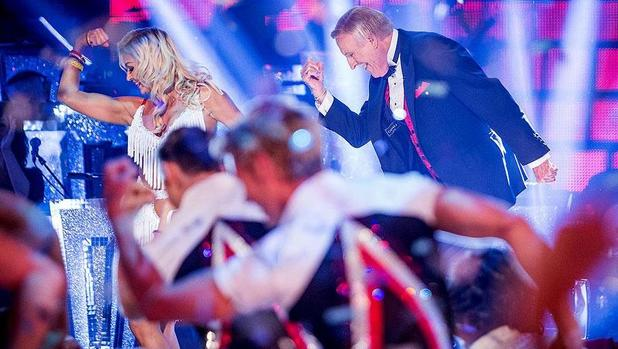 Strictly Come Dancing launch show - Bruce leads a flashmob. Transmission Date: 07/9/2014