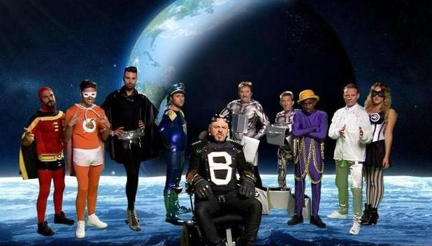 Celebrity Juice superheroes for the new series (11 September).
