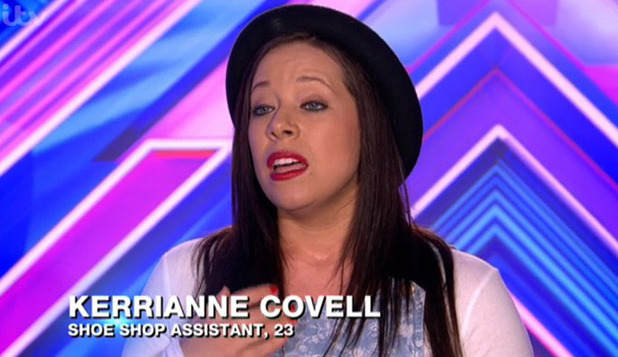 Kerrianne Covell misses work in shoe shop to audition for The X Factor - 8 September 2014