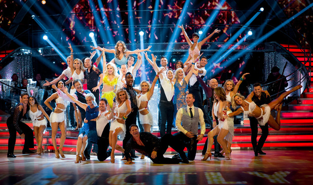 Strictly Come Dancing 2014 group photo. Transmission Date: 07/9/2014